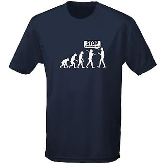 Stop Following Me Evo Evolution Mens T-Shirt 10 Colours (S-3XL) by swagwear
