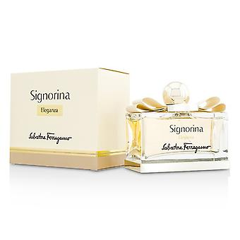 Salvatore Ferragamo Signorina Eleganza Eau De Parfum Spray 100ml/3.4 oz