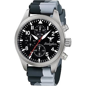 KHS mens watch Airleader Steel Chronograph KHS. AIRSC. DC1