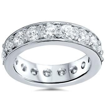 3ct Diamond Eternity Ring 14K White Gold