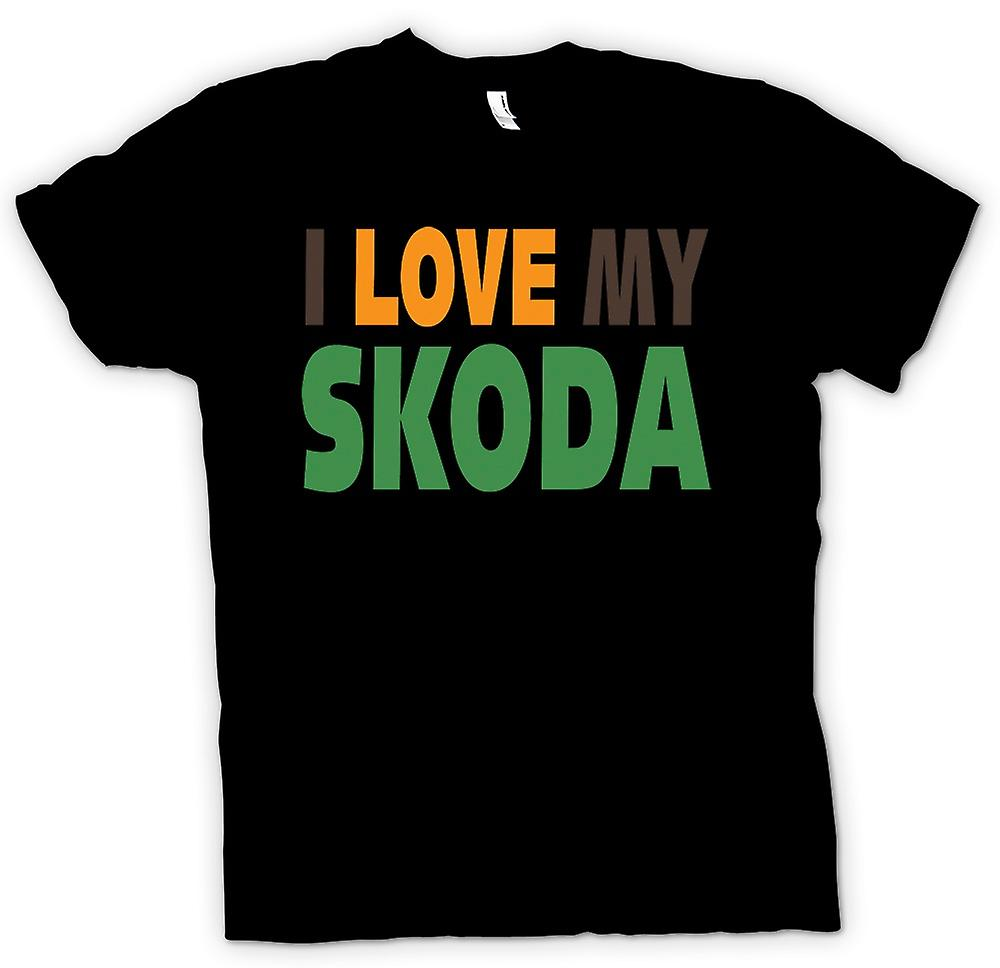 Kids T-shirt - I Love My Skoda - Car Enthusiast