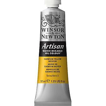 Winsor & Newton Artisan vatten blandbart olja färg 37ml (116 kadmium gul Medium S2)