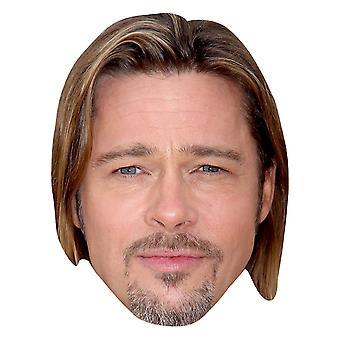 Maschera di Brad Pitt