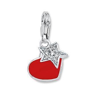 s.Oliver jewel ladies pendant charm silver heart SOCHA/216-465069