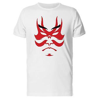 Japanese Drama Kabuki Mask Tee Men's -Image by Shutterstock