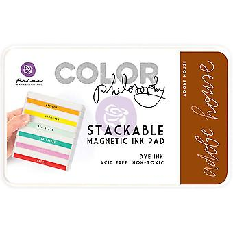 Prima Marketing Color Philosophy Dye Ink Pad-Adobe House