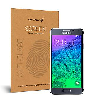 Celicious Matte Anti-Glare Screen Protector for Samsung Galaxy Alpha [Pack of 2]