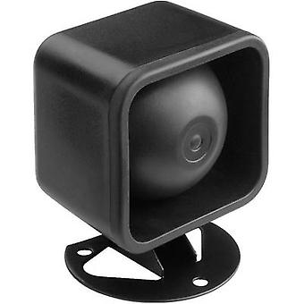 Compression drive speaker Monacor NR-18KS 10 W Black