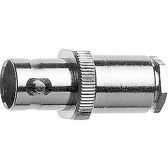 BNC connector Socket, straight 75 Ω Telegärtner J01003A1227 1 pc(s)