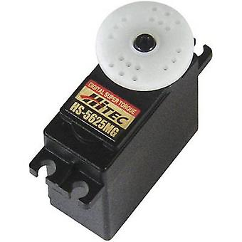 Hitec Standard servo HS-5625MG Digital servo Gear box material: Metal Connector system: JR