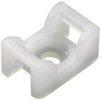 HellermannTyton 151-24619 KR6G5-N66-NA-C1 Cable mount Screw fixing Transparent 1 pc(s)