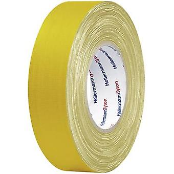 HellermannTyton 712-00202 Cloth tape HelaTape Tex Yellow (L x W) 10 m x 19 mm 1 Rolls