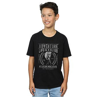 Drewbacca Boys Life Is A Climb T-Shirt