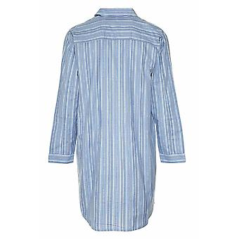 Champion Mens Brushed Cotton Striped Nightshirt Sleepwear