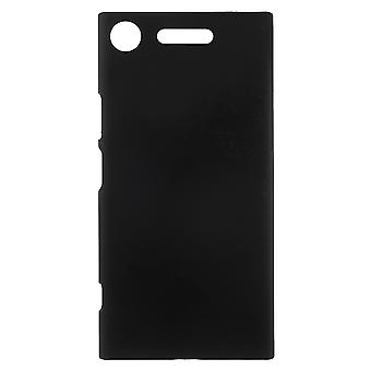 Sony Xperia XZ1 Rubberized Cover-Black