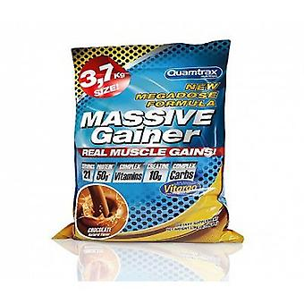 Quamtrax Nutrition Massive Gainer Chocolate 3,7 Kg (Sport , Muscle mass , Mass gainers)
