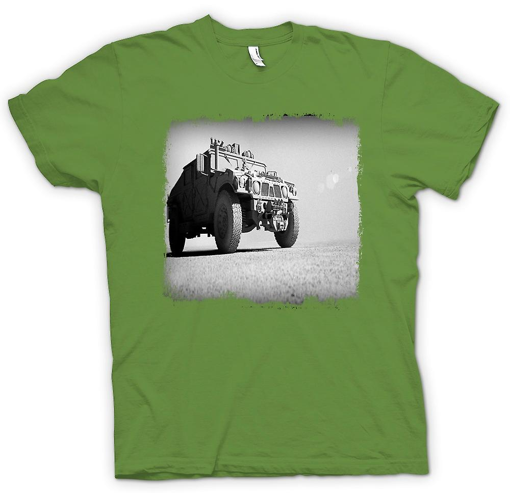Heren T-shirt - Amerikaanse leger Humvee - Desert Warrior