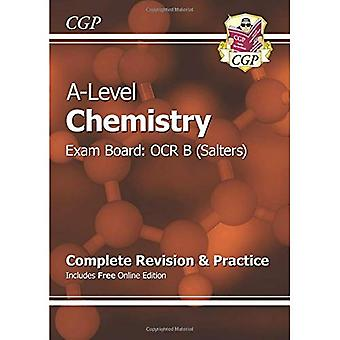 New 2015 A-Level Chemistry: OCR B Year 1 & 2 Complete Revision & Practice with Online Edition