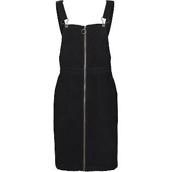 Urban Classics Damen Kleid Corduroy Dungaree