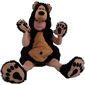 Traje de oso pequeño