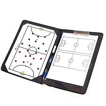 Precisión entrenamiento fútbol fútbol sala Pro entrenadores táctica carpeta portapapeles