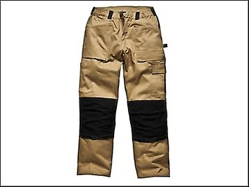 Dickies Grafter Trouser Khaki & Black Waist 42in Tall