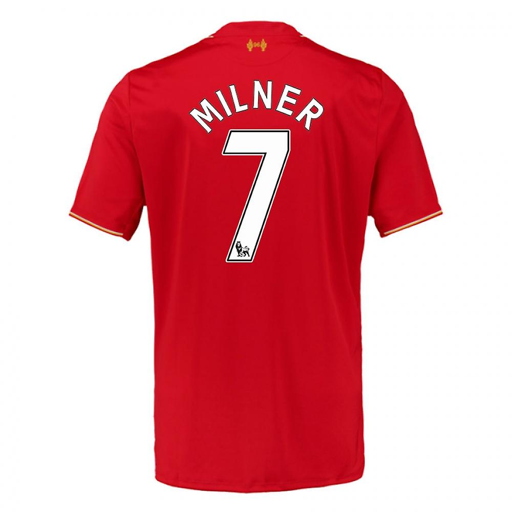 2015-16 Liverpool Home Shirt (Milner 7) - Kids