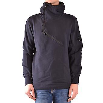 C.p. Company Blue Cotton Sweatshirt