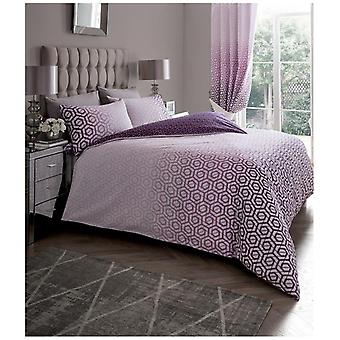 Ohari Ombre Modern Duvet Quilt Cover Reversible Bedding Set Pillow Case