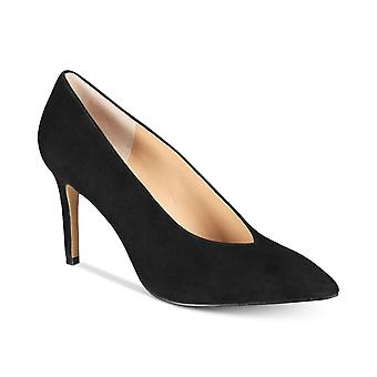 INC International Concepts Womens Ciaran Leather Pointed Toe Classic Pumps
