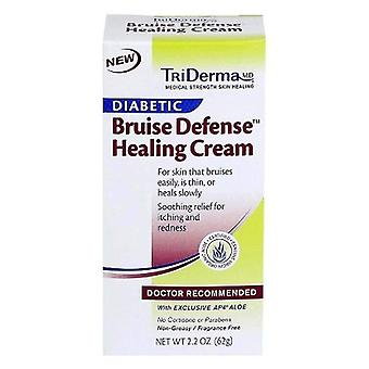 Triderma diabetic bruise healing cream, fragrance free, 2.2 oz