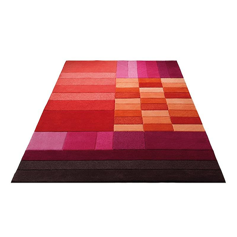 Rugs - Esprit Box - 3310/04 Red & Orange