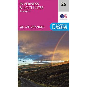 Inverness & Loch Ness - Strathglass (February 2016 ed) by Ordnance Su