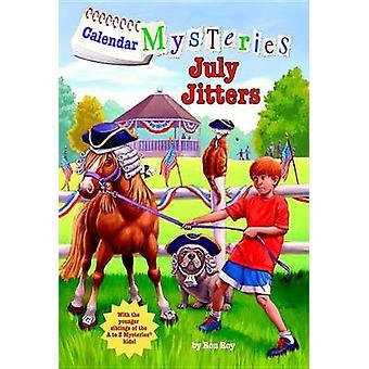 July Jitters by Ron Roy - John Steven Gurney - 9780606264020 Book