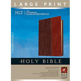 Premium Slimline Reference Bible-NLT-Large Print (2nd large type edit