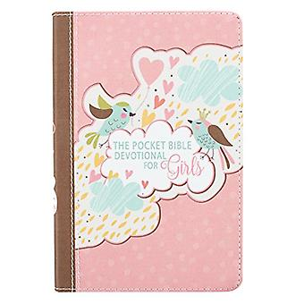 Pocket Bible Devotional Lux-Leather Girls - 9781432119263 Book