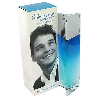 Very Irresistible Fresh Attitude by Givenchy Eau De Toilette Spray 1 oz  / 30 ml (Men)