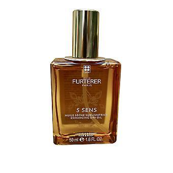 Rene Furterer 5 Sens Enhancing Dry Oil Hair & Body 1.6 OZ