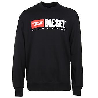 Diesel S-Crew-Division Felpa Black Sweatshirt