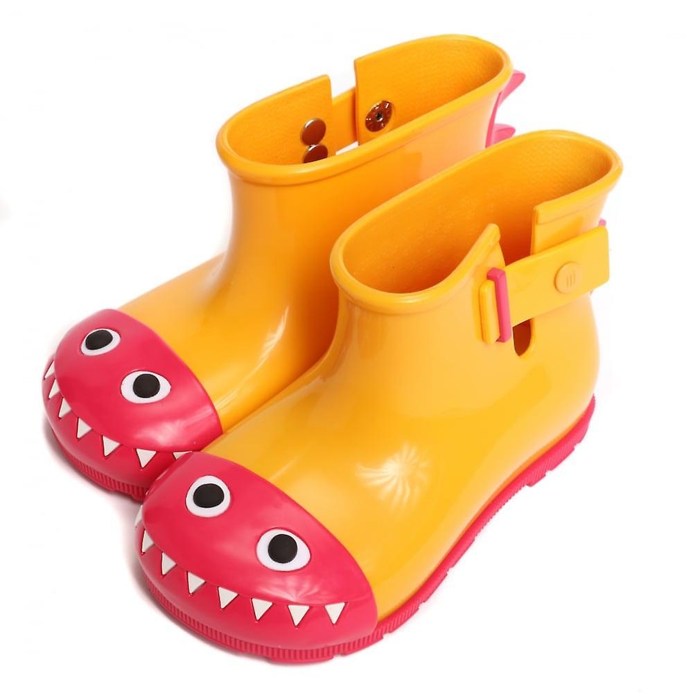 Melissa chaussures Mini démarrageie Monster démarrage, jaune Contrast
