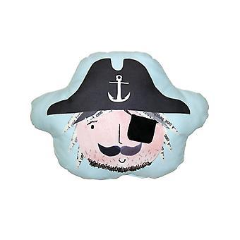 Pirates Ahoy øjen patch lomme pude
