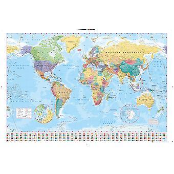 Mondo mappa 2015 Maxi Poster 61x91.5cm
