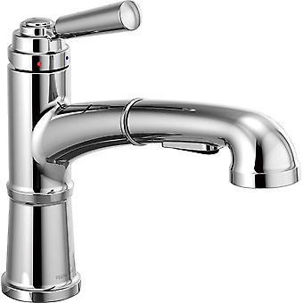 Delta Westchester P6923LF Kitchen Faucet with Pull-Out Sprayer, Chrome
