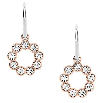 Fossil Women's Earrings in Stainless Steel with Glass