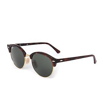 Ray-Ban Clubmaster classique Tortoise Brown lunettes de soleil
