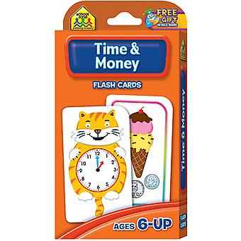 Flash Cards Time & Money 50 Pkg Szflc 4016