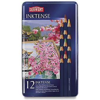 Derwent Inktense potlood Set 12 Tin 700928