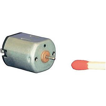 Miniature brushed motor Motraxx SFF-N10VA 18100 rpm