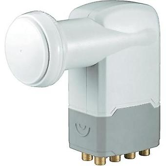 Octo LNB Goobay Universel No. of participants: 8 LNB feed size: 40 mm with switch, gold-plated terminals