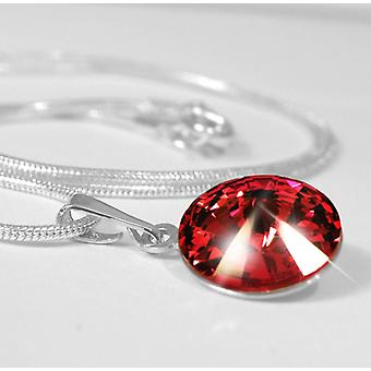 Pendant necklace red PMB1.5